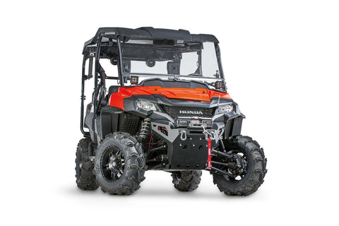 Warn Front Bumper with Integrated Winch Mount for Honda SXS700 Pioneer - 101698