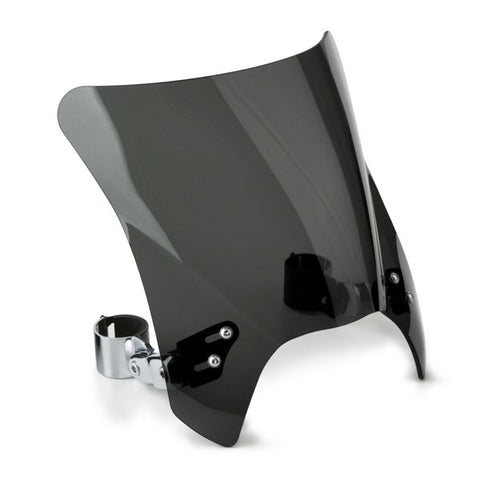 National Cycle N2831-001 Mohawk Dark Tint Windshield for V-Twin - Chrome Hardware