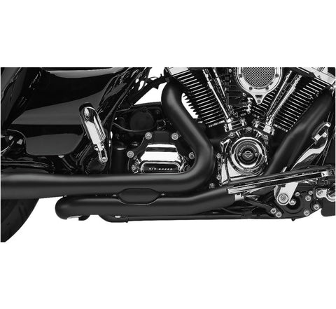 Cobra Powerport Head Pipes for 2017-19 Harley FLH / FLT - Black - 6255RB