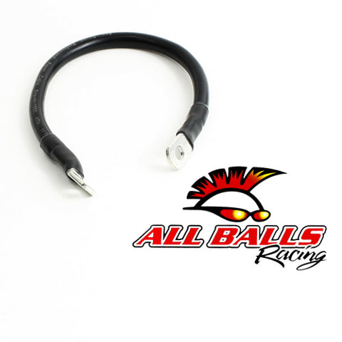 All Balls Battery Cable - 13 Inches - Black -  78-113-1