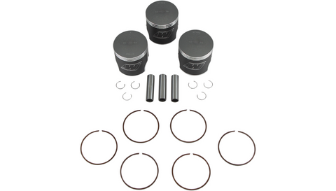 Wiseco Top-End Piston Kit for 1972-75 Kawasaki 750 H2 / Mach IV - 71.50mm - K106