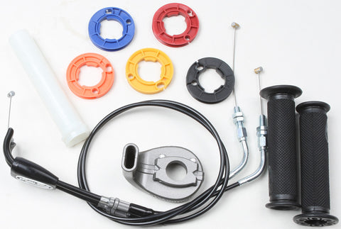 Motion Pro 01-2728 Rev2 Throttle Kit with Grips for 2008-09 Suzuki GSXR600/750
