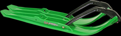 C&A Pro XPT Snowmobile Trail Skis - Green - 77380420