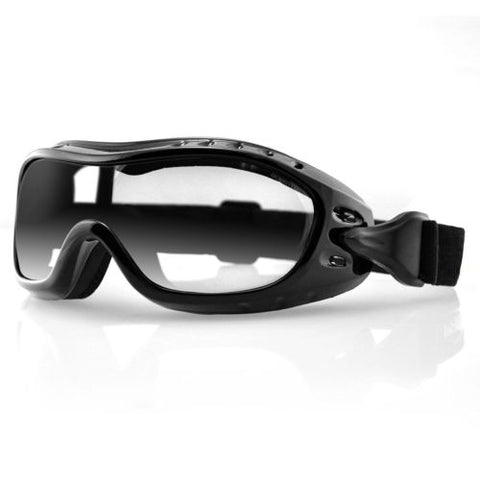 Bobster Night Hawk OTG Goggles - Black Frame/Clear Anti-fog Lens - BHAWK01C