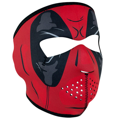 ZANHeadgear Neoprene Full Face Mask - Red Dawn - WNFM109
