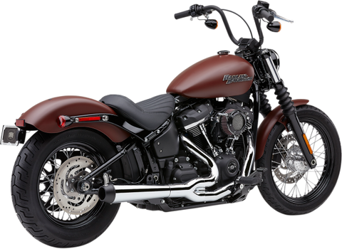 Cobra El Diablo Exhaust for 2018-19 Harley Softails - 4in/Chrome - 6479