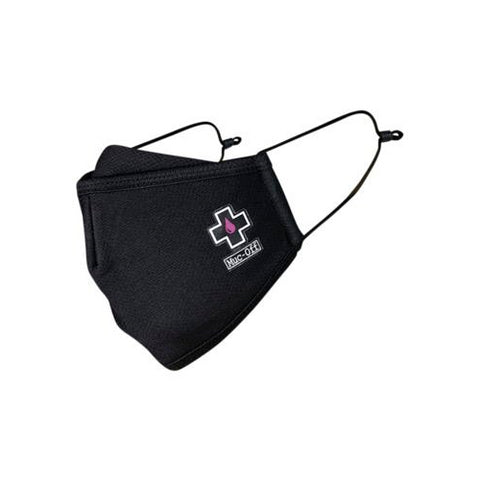 Muc-Off Reusable Facemask - Black - Small
