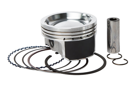 Vertex 23643B Replica Piston Kit for Polaris 800 ATV/UTV Models (79.96mm)