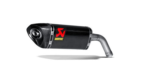 Akrapovic Carbon Fiber Slip-On Muffler for 2013-15 Honda MSX125 Grom - S-H125SO1-HAPC