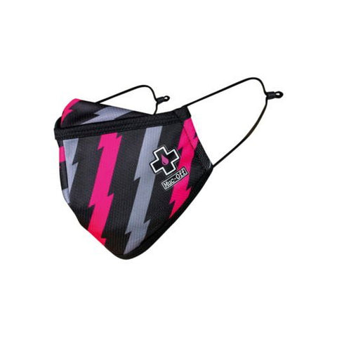 Muc-Off Reusable Facemask - Bolt - Small