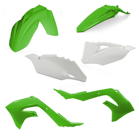 Acerbis Standard Plastic Kit for 2019-21 Kawasaki KX models - Original 19 - 2736286345