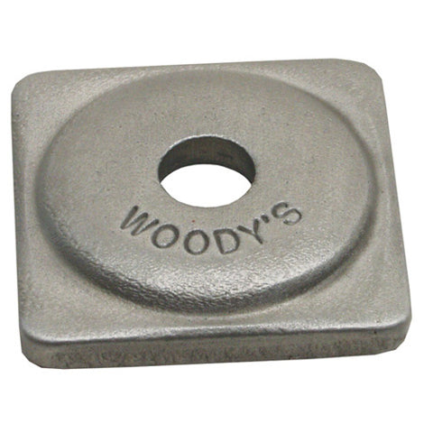 Woodys Grand Digger Square Support Plates - 12 Pack - ASG-3775-12