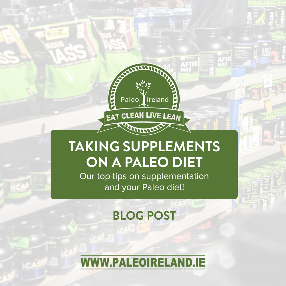 Taking Supplements on a Paleo Diet - Top Tips