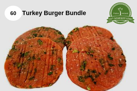 60 Turkey Burger Bundle
