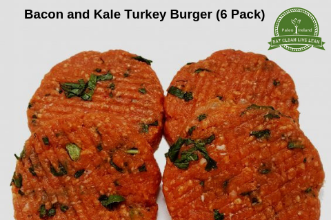 Bacon and Kale Turkey Burger (6 pack)