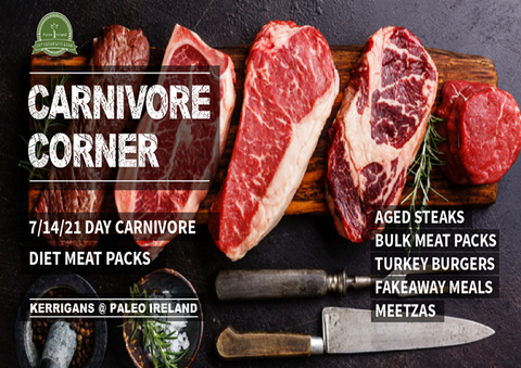 Keto Carnivore Pack- 7 Day Plan 1 Person