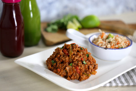 Chilli Con Carne with Cauliflower rice