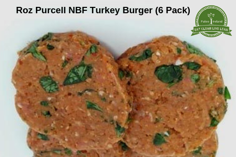 Roz Purcell NBF Turkey Burger (6 Pack)