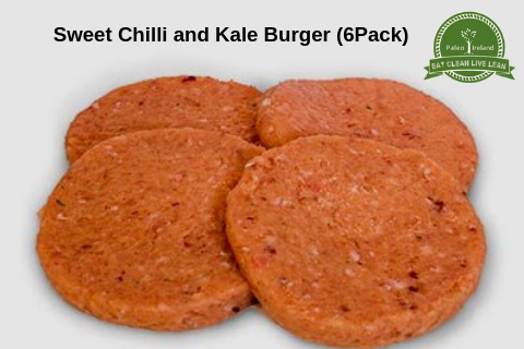 Sweet Chilli and Kale Burger (6 Pack)