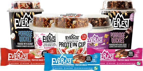EVEREST PROTEIN BARS MONTHLY PACK