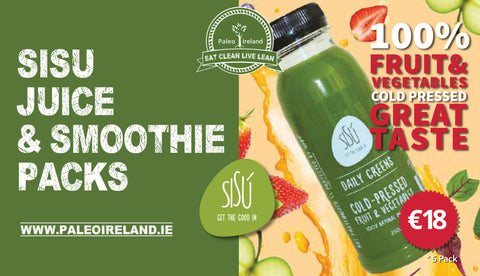SiSu Juice & Smoothie 5 Pack