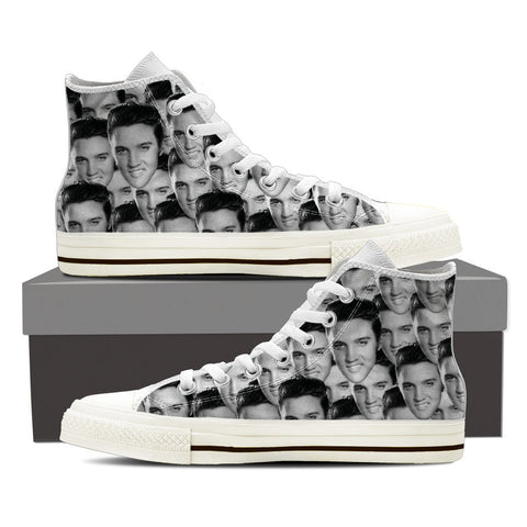 Elvis Ladies High Top Shoes