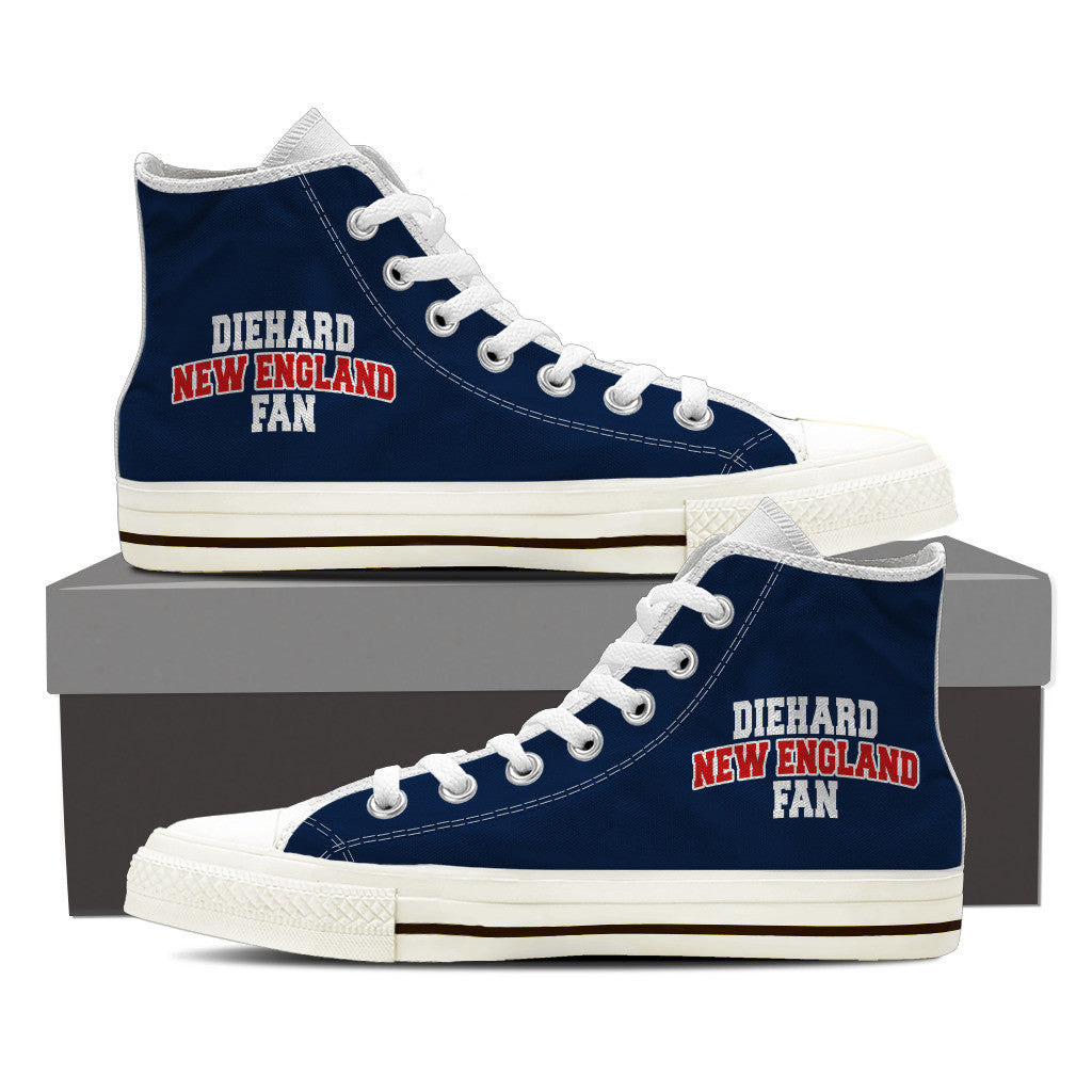 New England Ladies Hi Top Shoes