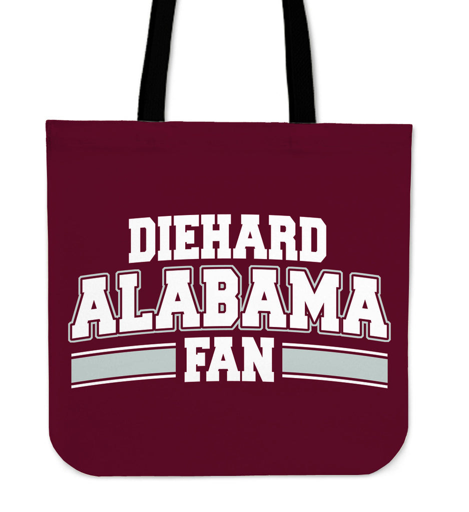 Diehard Alabama Totebag