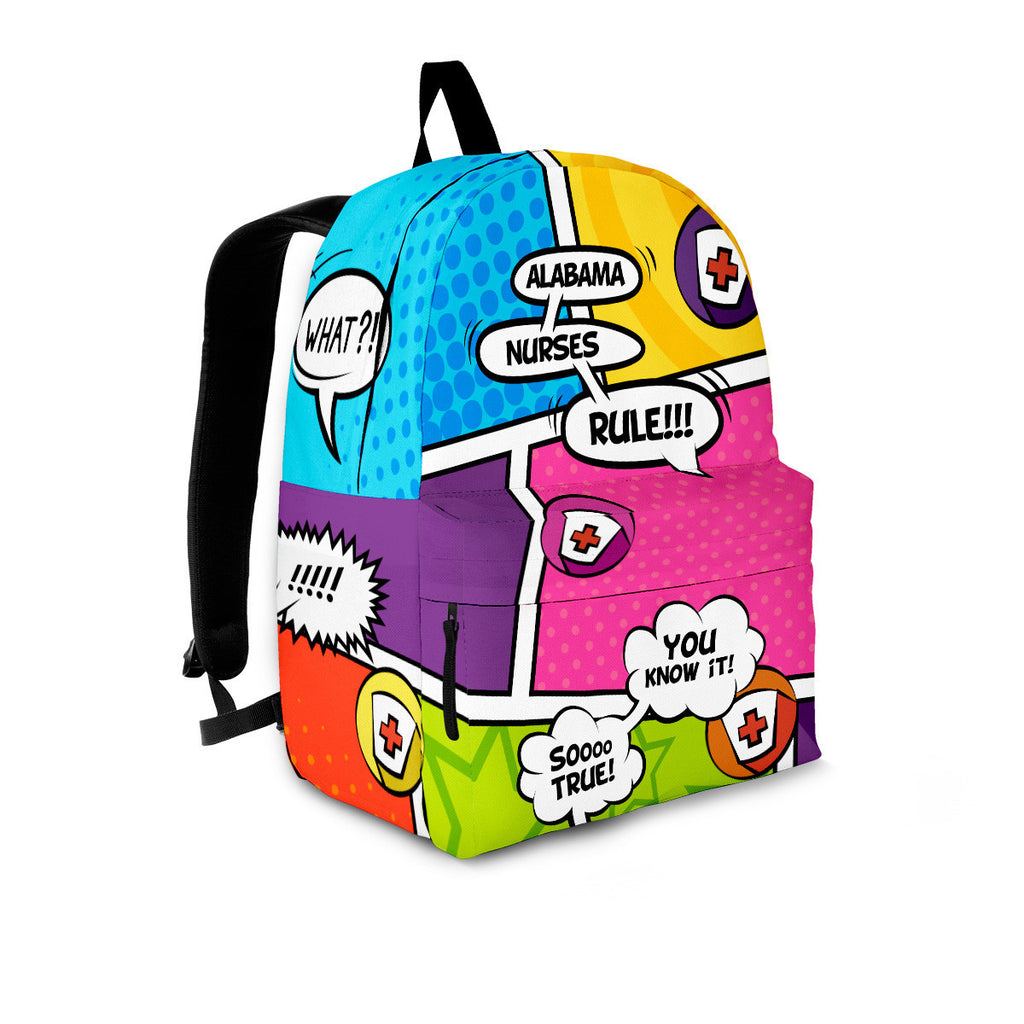 AL Comic Nurse Backpack