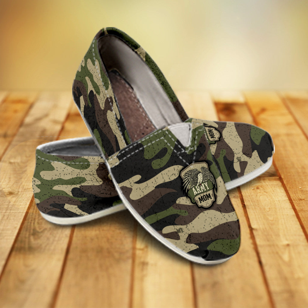 Camouflage Ladies Casuals