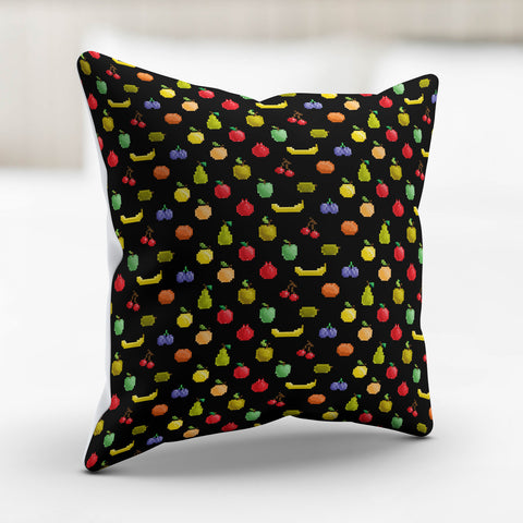 Bitmap Fruit Pillowcase