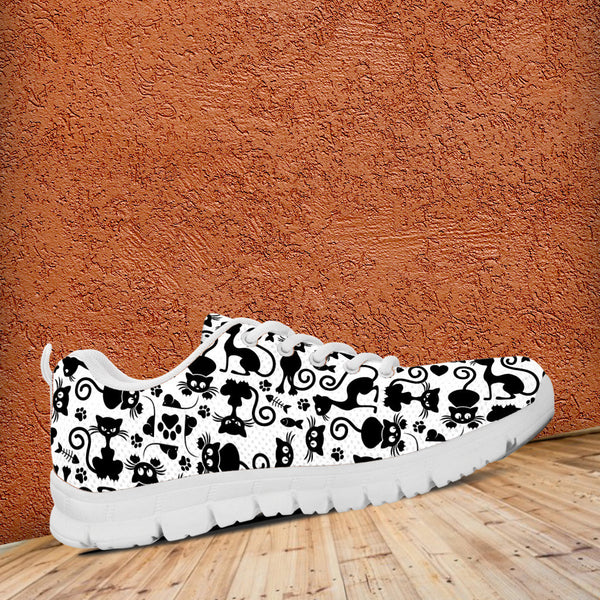 Cats White Running Shoes