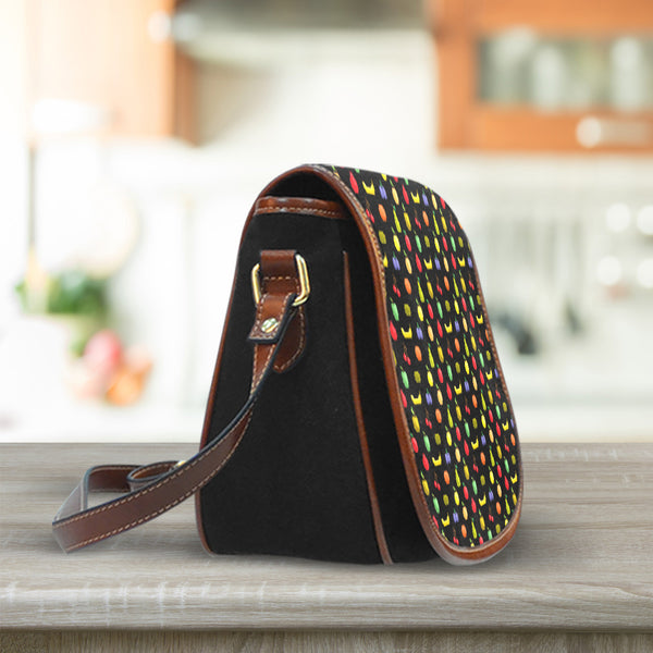 Bitmap Fruit Saddle Bag