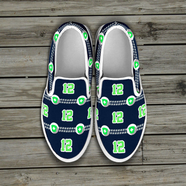 Seattle Nurse Slip Ons
