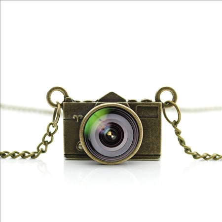 Best Lens Camera Necklace Glass Pendant