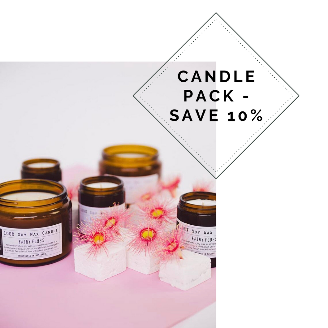 CANDLE PACK - Save 10%
