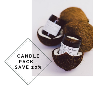 CANDLE PACK - Save 20% (RRP $99.80)