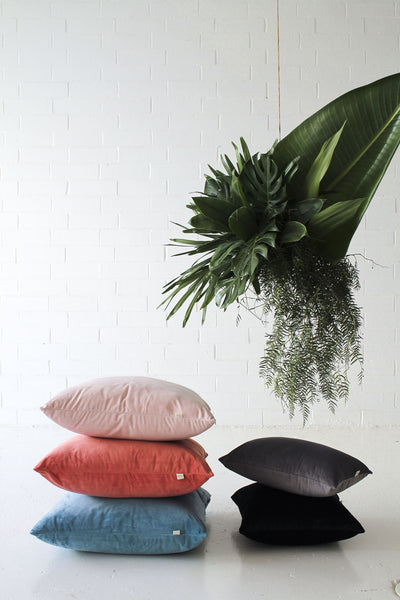 Velvet 'Teal' Cushion