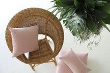 Load image into Gallery viewer, Velvet 'Blush' Cushion