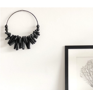 Black Driftwood Wall Hanging