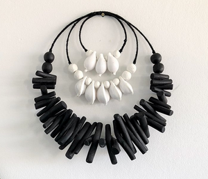 Cowrie + Driftwood Wall Hanging