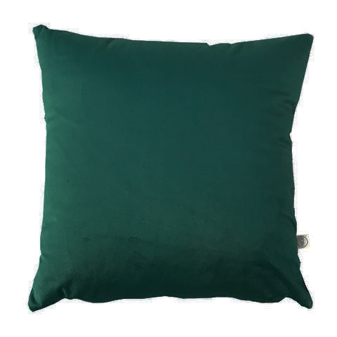 Velvet 'Forest Green' Cushion