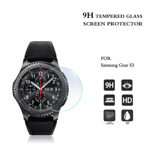 Third-Party Samsung Gear S3 Tempered Glass Screen Protector