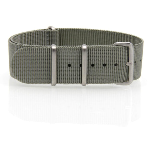 Nylon NATO Watch Strap (Grey)