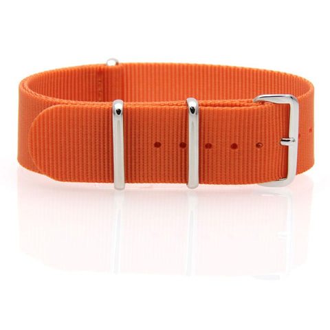 Nylon NATO Watch Strap (Orange)
