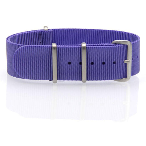 Nylon NATO Watch Strap (Purple)