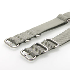 Nylon ZULU Watch Strap (Grey)