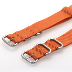 Nylon ZULU Watch Strap (Orange)