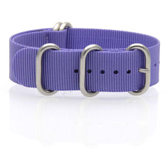 Nylon ZULU Watch Strap (Purple)