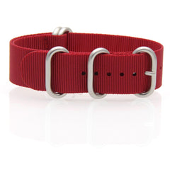 Nylon ZULU Watch Strap (Red)